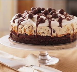 BrownieIceCreamCake